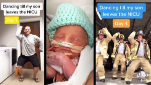 Florida Dad Making Funny TikToks Until Son Comes Home From NICU
