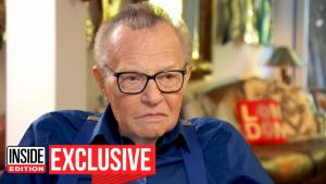Larry King Says His Son's Tearful Plea Saved His Life Following Near Fatal Stoke