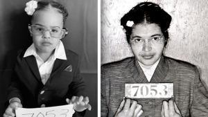 2-Year-Old Dresses Up as Rosa Parks and Other Icons for Black History Month