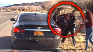 Choking Baby Saved by Quick-Thinking New Mexico Police Officer