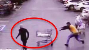 Hero Customer Stops Sprinting Shoplifter with Shopping Cart: Police