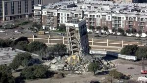 Half-Demolished Building Dubbed 'Leaning Tower of Dallas' Still Hasn't Come Down