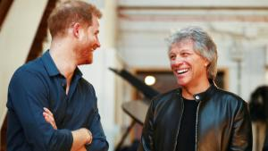 Prince Harry Jams with Bon Jovi at Abbey Road in Final Weeks as a Working Royal