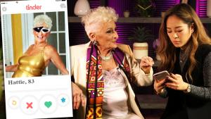 83-Year-Old Grandma's Advice on Finding a Valentine's Date on Tinder