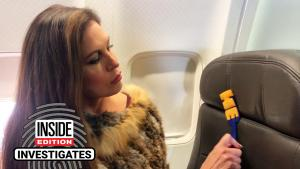 What Lisa Guerrero Found After Wiping Down Her Airplane Seat