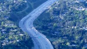 Los Angeles Highways are Empty as Governor Orders Residents to Stay Home