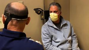 Inside Edition's Jim Moret Gets Tested for the Coronavirus