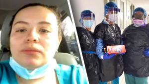 New York Nurse Defends Photos Showing Nurses Wearing Trash Bags