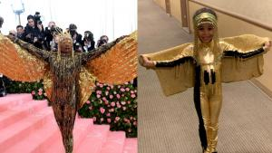5-Year-Old Recreates Billy Porter's Met Gala Look in Fashion Challenge