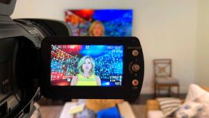 How Inside Edition's Deborah Norville Transformed Her Home Into a TV Studio
