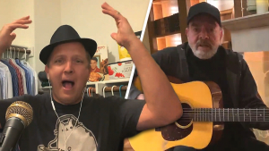 Dad Finishes Neil Diamond's 'Sweet Caroline' Coronavirus Parody Song