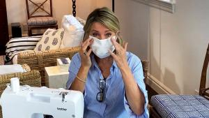 Deborah Norville Shows You How to Make Your Own Face Mask at Home