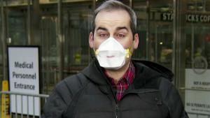 Some Journalists Wear Masks On Air During Reports Outside
