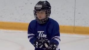 This Is What a 5-Year-Old Thinks When He's Playing Hockey