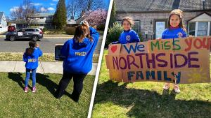 Teachers Parade Through Town in Cars to See Students: 'We Miss Them'