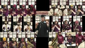 Music Teacher Makes Graduation Special By Playing 22 Different Instruments