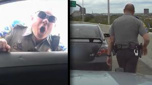State Trooper's Tantrum After Driver's Rude Gesture 'Disturbing': Conn. Police