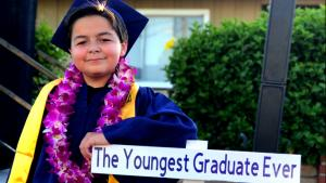 California 13-Year-Old Graduates Fullerton College With 4 Associate Degrees