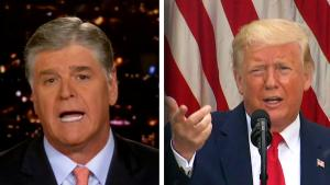 Sean Hannity Begs People to Wear Masks as President Trump Mocks Reporters Who Do