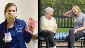 How Nurse Protects Herself and Live-in Grandmother from Coronavirus