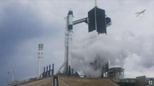 SpaceX's 1st Manned Launch Aborted Minutes Before Scheduled Liftoff
