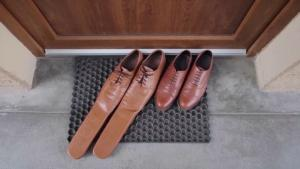 'Clown' Shoes From Romania Are Meant to Encourage Coronavirus Social Distancing