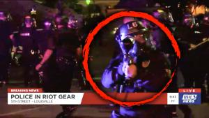 Los Angeles Times Reporter Charged With Riot Shield Despite Identifying Himself