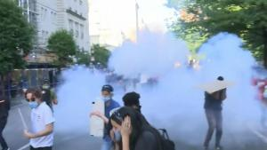 White House Denies Using Tear Gas on Protesters by Splitting Hairs