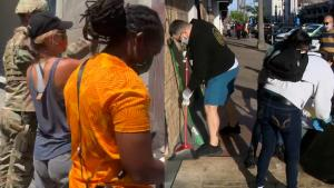 Volunteers Show Support With Street Clean-Ups and Bail Funds After Protests