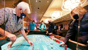 Las Vegas Celebrates City's Reopening With Countdown to End of Casino Closures