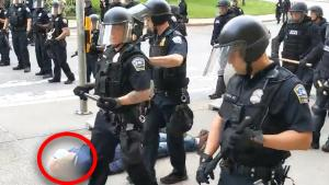 Buffalo Cops Suspended After 75-Year-Old Protester Is Pushed to the Ground