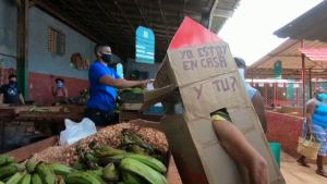Cuban Senior Citizen Makes Coronavirus Protective Suit Out of Cardboard Boxes