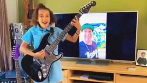 10-Year-Old Girl Gets Guitar from Tom Morello After Covering 'Guerrilla Radio'