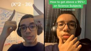 16-Year-Old Alexis Loveraz Teaches Math on TikTok to Students All Over the World