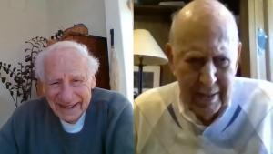 Carl Reiner Got Together With Mel Brooks Virtually to Watch TV