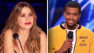 Sofia Vergara Gets Emotional After 'AGT' Contestant Reveals Sad Meaning of Poem
