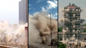 North Korea Blows up Office, Texas Fails to Implode Tower and Other Demolitions