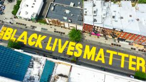 President Calls Black Lives Matter Mural Below Trump Tower a 'Symbol of Hate'