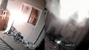 New York Man Accidentally Burns Down His Own House with Illegal Fireworks