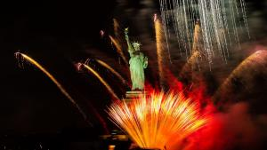United States Celebrates Fourth of July Holiday with Fireworks Displays