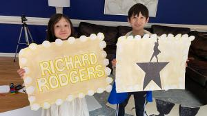 New Jersey 9-Year-Old 'Hamilton' Megafan Throws Epic Watch Party