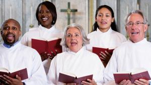 Singers Are Banned at Church Services in California