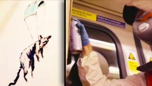 Banksy's Art Pops Up on London Tube With Message to Wear Face Masks