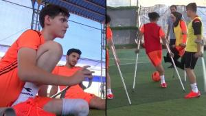 Gaza Amputee Soccer League Plays Again After Coronavirus Restrictions Are Lifted