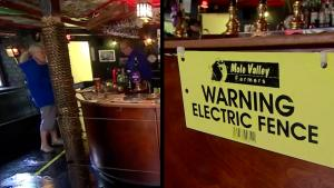 English Pub Installs Electric Fence to Enforce Coronavirus Social Distancing