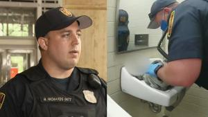 New Jersey Officer on Saving Baby: 'It Was a Very Big Sigh of Relief'