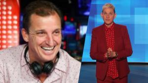 Talk Show Host Says He Was Told to Not Look at Ellen When She Was a Guest