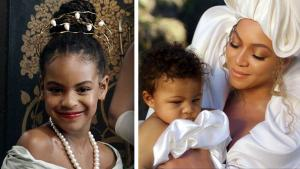 Beyonce's Album 'Black Is King' Features Blue Ivy and Twins