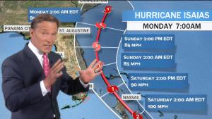 Hurricane Could Hit Florida as COVID-19 Cases Continue to Climb