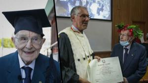 96-Year-Old WWII Veteran Earns College Degree
